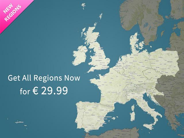 New Regions