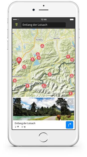 Entdeck die neue interaktive Karte, die sofort Lust auf Abenteuer macht.