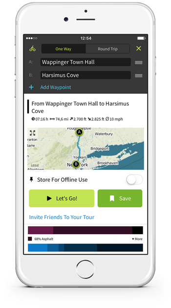 Plan and customize Tours on your iPhone instantly.
