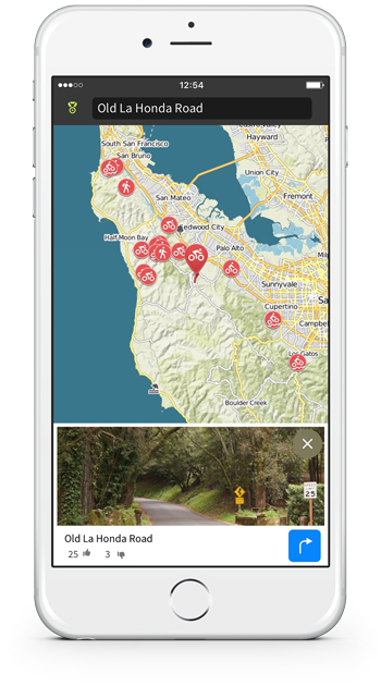 Experience a newly interactive map that will inspire you to roam near and far