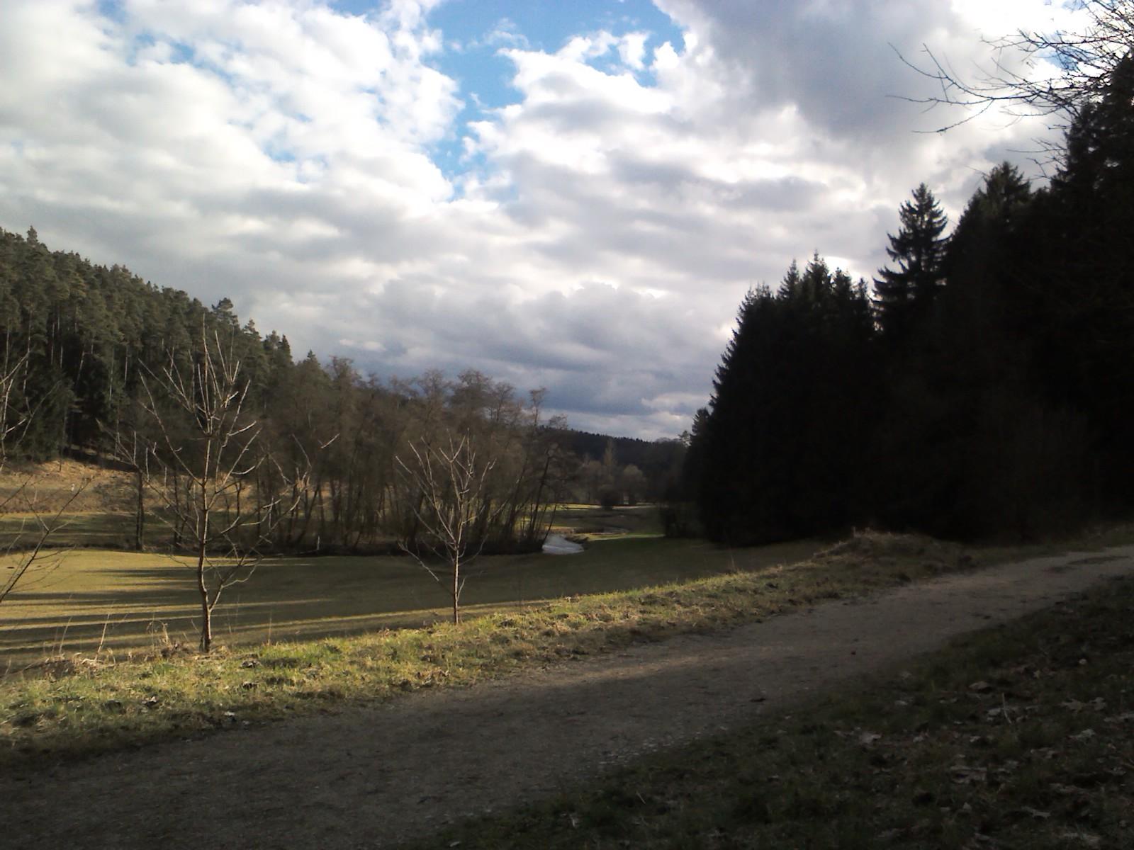 Wieder eine Landschaft, die zu tiefer innerer Ruhe führt.
