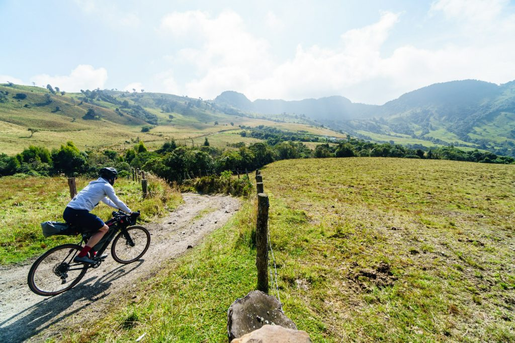 3T riders explore Colombia's cycling in the Coffee Region. ©Marc Gasch/3T